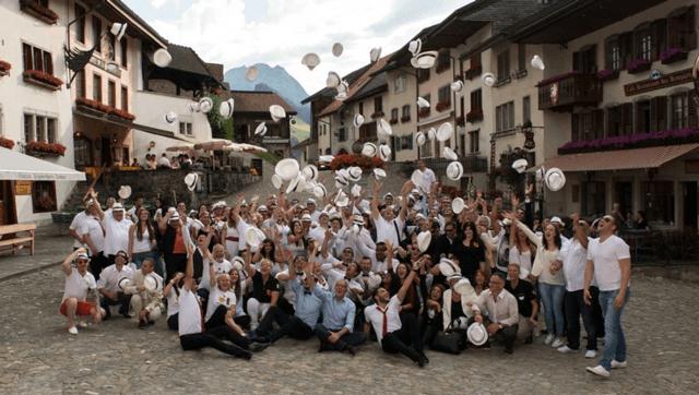 Am eidgenössischen Treffen in Gruyères