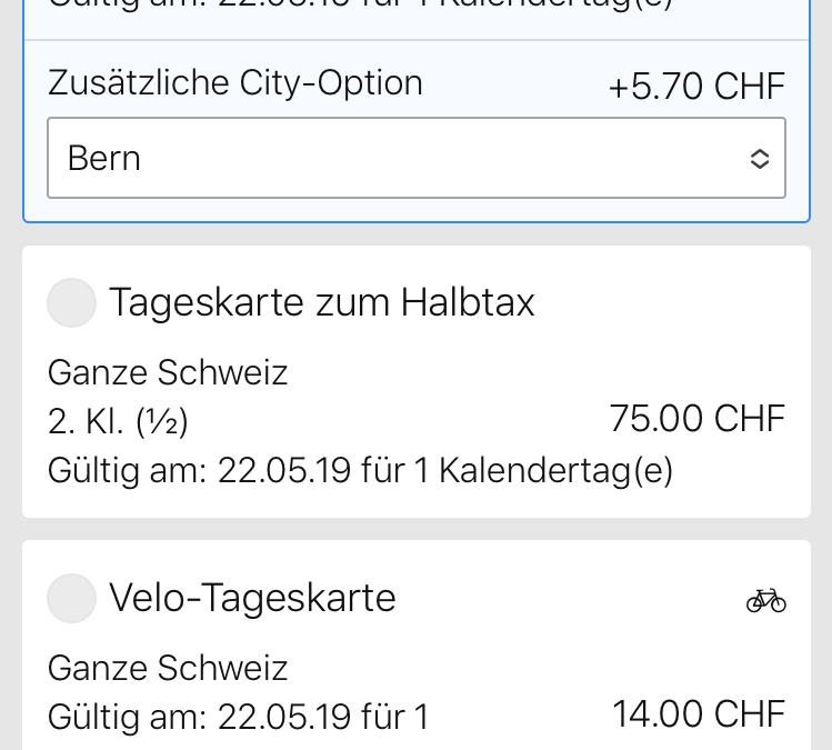 Achète ton billet de transports publics sur search.ch ou sur l'application